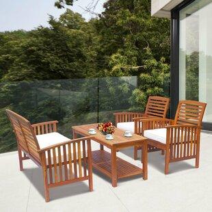 Braga 4 Seater Sofa Set By Sol 72 Outdoor