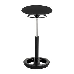 Zelazny Active Height Adjustable Industrial Stool by Latitude Run Coupon