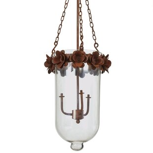 One Allium Way Verna 1-Light Urn Pendant