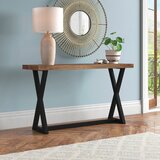 Cottage Country X Cross Leg Console Tables You Ll Love In 2021 Wayfair