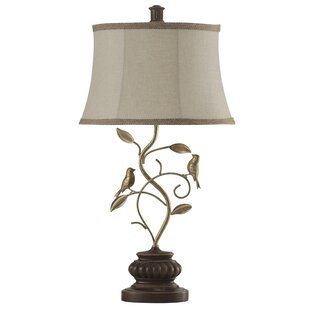 Fielden Fidora Branch and Bird 32 Table Lamp