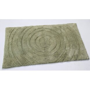 Felipe 100% Cotton Echo Spray Latex Back Bath Rug