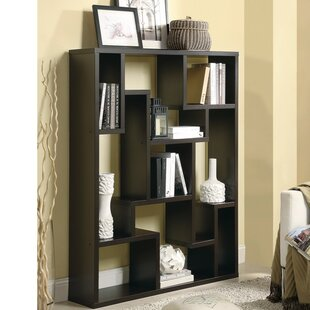 Inexpensive Mcatee Magnificently Asymmetrical Wooden Cube Unit Bookcase By Ivy Bronx
