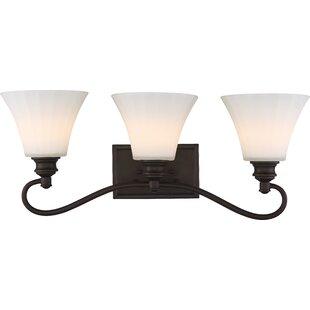 Charlton Home Eich 3-Light LED Vanity Light