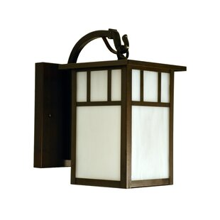 Check Prices Huntington 1-Light Outdoor Wall Lantern By Arroyo Craftsman