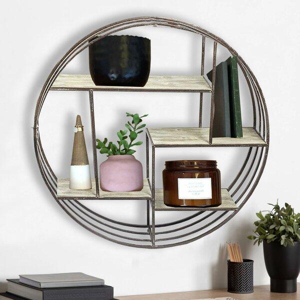 Round Metal Wall Shelf Wayfair