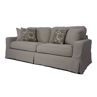August Grove Columbus Box Cushion Sofa Slipcover Set