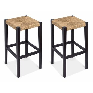 Check Prices Rush Weave  30 Bar Stool (Set of 2) by BirdRock Home Reviews (2019) & Buyer's Guide