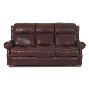 Defiance Reclining Sofa with Headrest Support by Red Barrel Studio