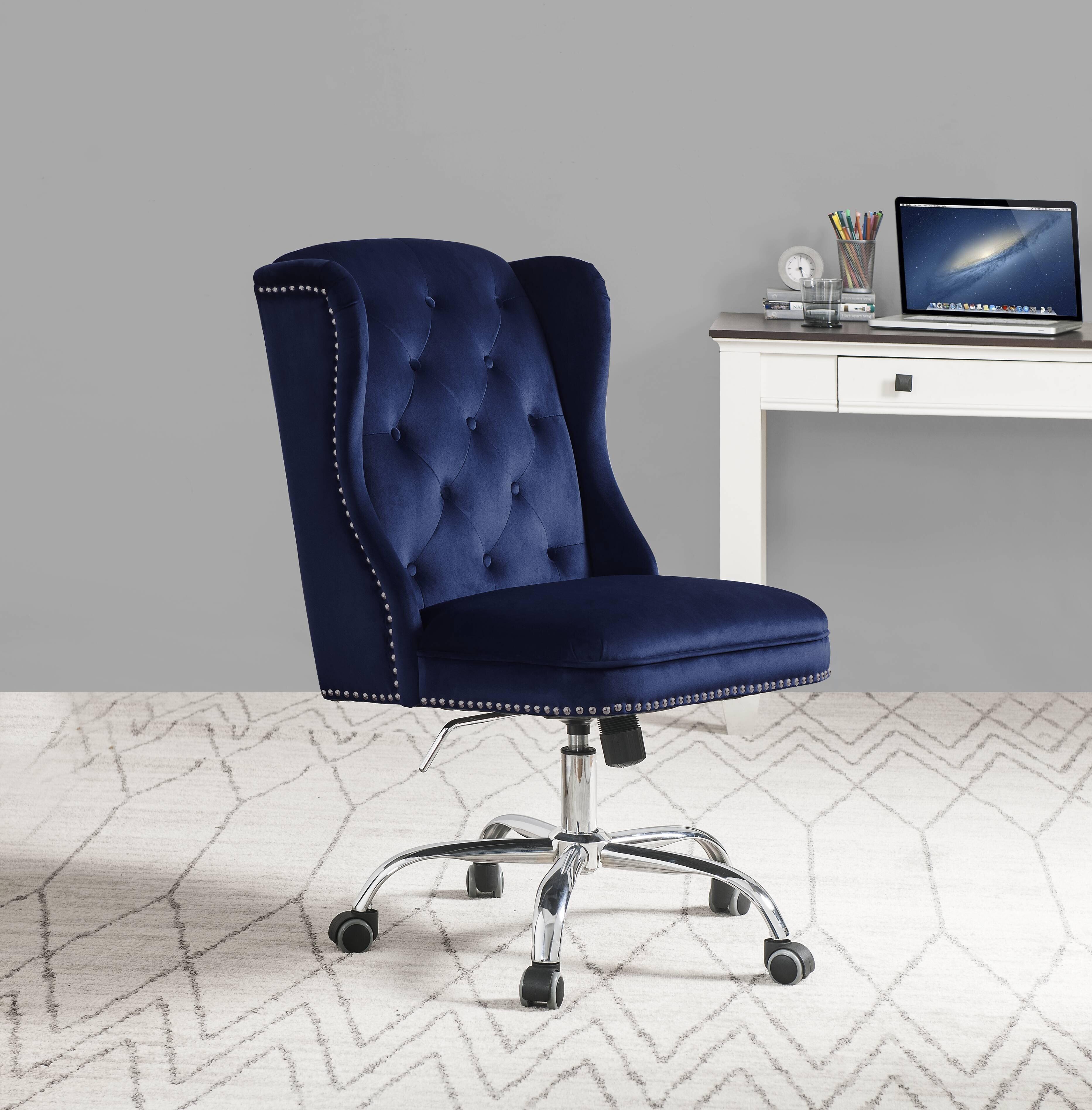 300lbs 400lbs Capacity Velvet Office Chairs You Ll Love In 2021 Wayfair