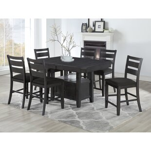 Offutt 7 Piece Pub Table S..