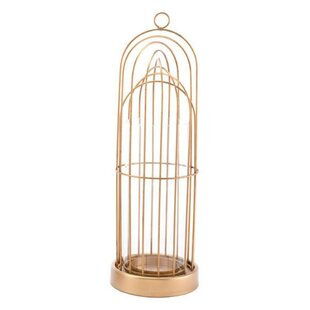 Birdcage Metal Lantern by House of Hampton