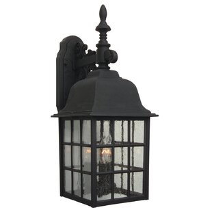 Best Price Oakhill 3-Light Outdoor Wall Lantern By Charlton Home