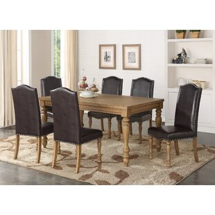 Quon 7 Piece Dining Set One Allium Way