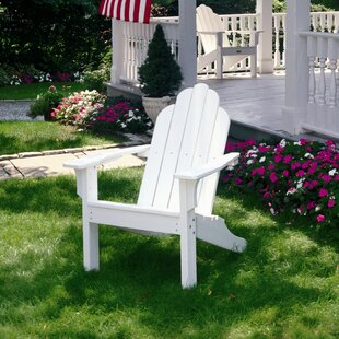 Classic Plastic Adirondack Chair by Seaside Casual