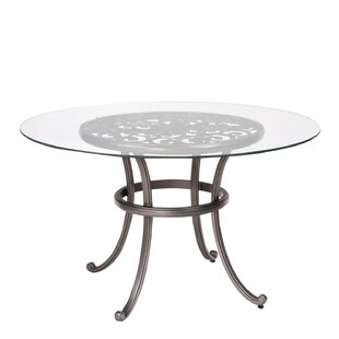 New Orleans Glass Dining Table (Set of 2) by Woodard