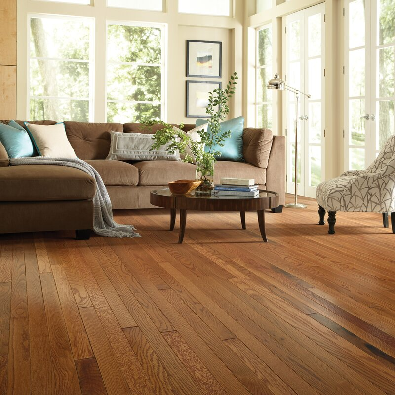 Welles Hardwood 2 14 Solid Oak Hardwood Flooring In Semi Glossy