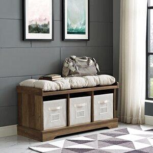 Liller Upholstered Storage Bench