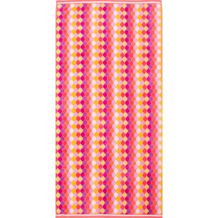 Stanton Prior Diamond Drop 100% Cotton Beach Towel