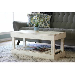 Gracie Oaks Merriman Slatted Bottom Coffee Table