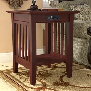 Affordable Price Livonia End Table By Three Posts