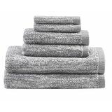 Melange 6 Piece Turkish Cotton Towel Set