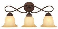 Comparison Bennington 3-Light Vanity Light By Hardware House