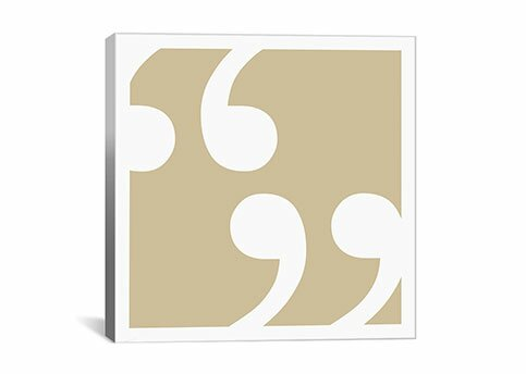 East Urban Home Quotes Textual Art On Wrapped Canvas In Beige Wayfair