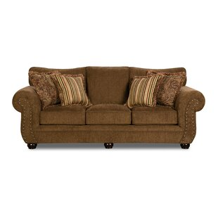 Charming Simmons Memory Foam Sofa | Wayfair