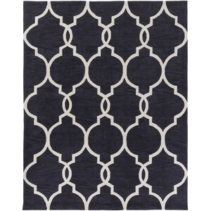 Holden Mattie Charcoal/Ivory Area Rug