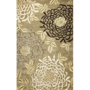 Great Price Odile Mums Area Rug By Red Barrel Studio