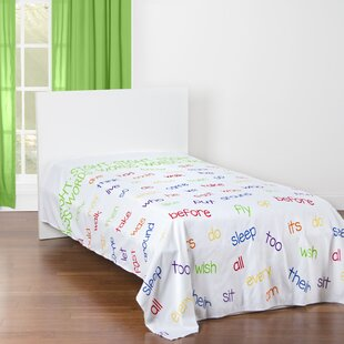 Harman Word Families and Sight Words Educational Microfiber Sheet Set