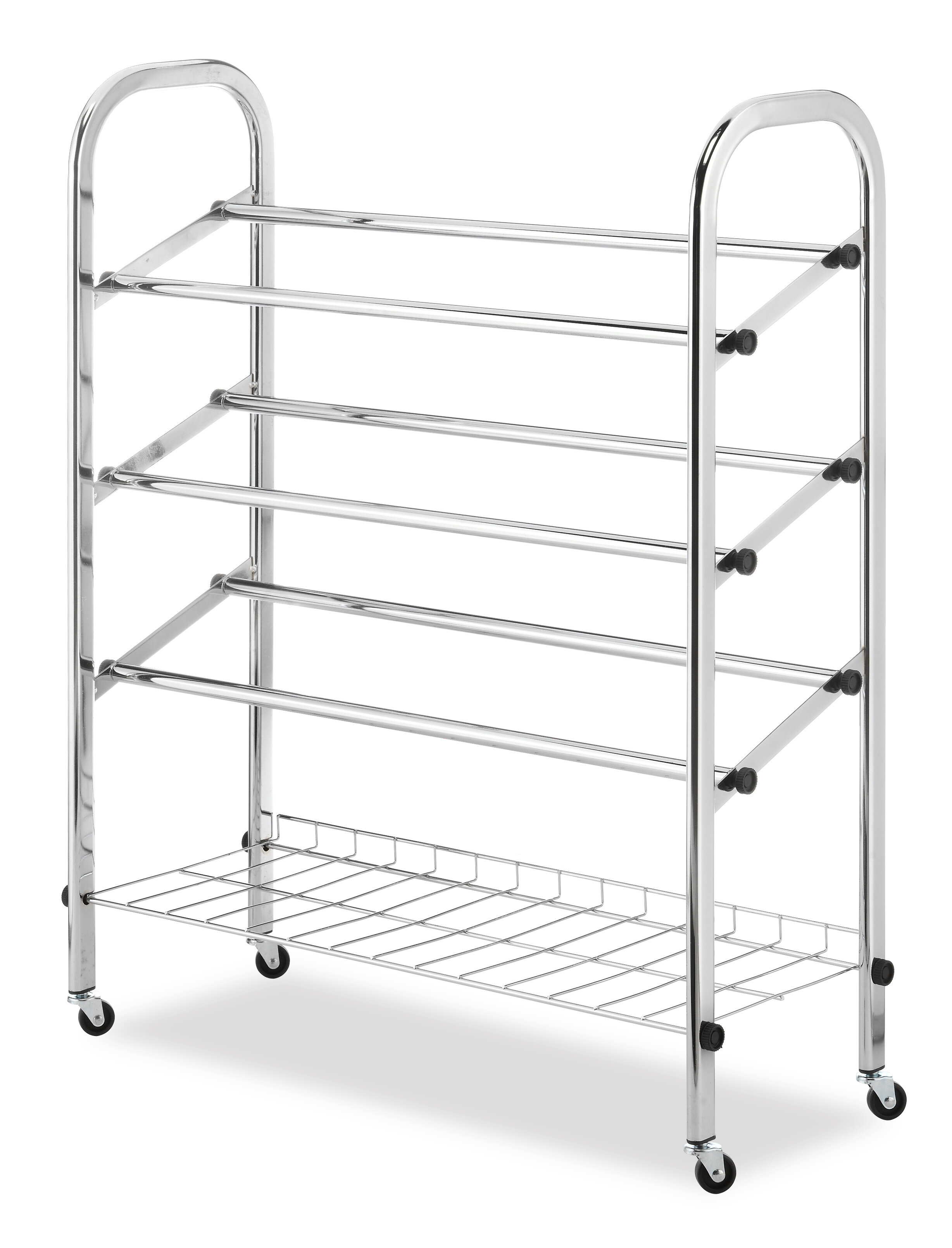 cart wood racks plans amazing size top rolling stainless kitchen on full wheels metal steel shelf fabulous metalh amusing rack inspirations image of design