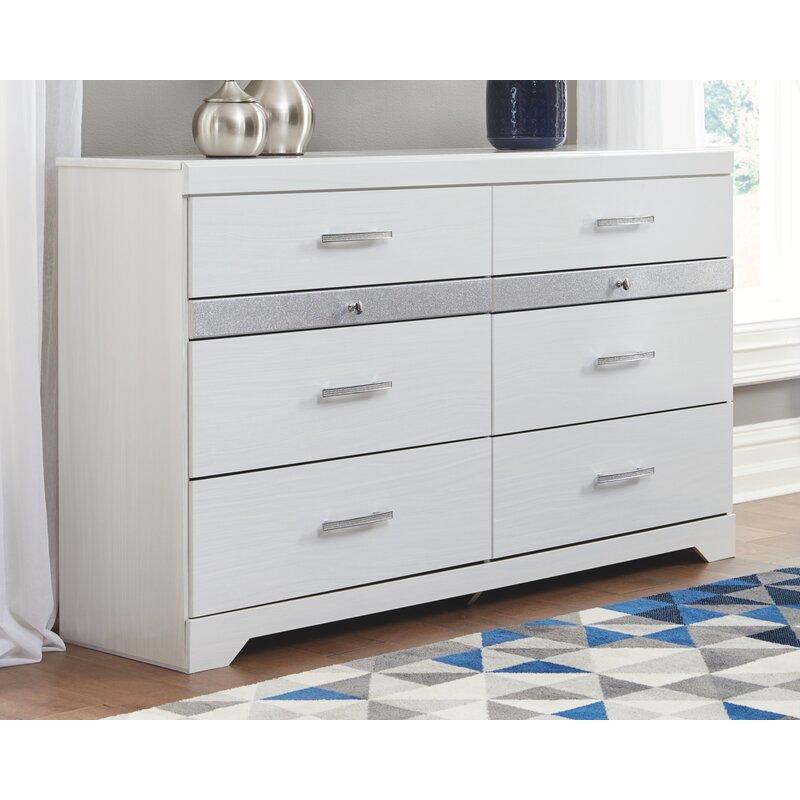 Codman 8 Drawer Double Dresser