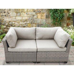 TK Classics Monterey 2 Piece Conversation Set with Cushions