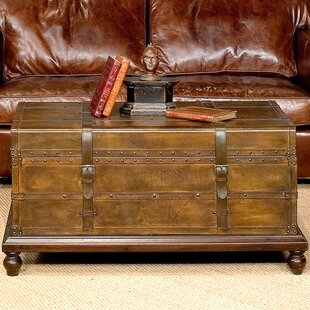 Sarreid Ltd Laramie Trunk Coffee Table