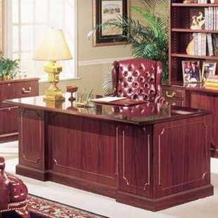 Bedford Double Executive Desk by High Point Furniture