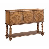 Potton Carved Front Console Table by Bloomsbury Market