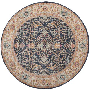 Katie Navy/Cream Area Rug by Mistana