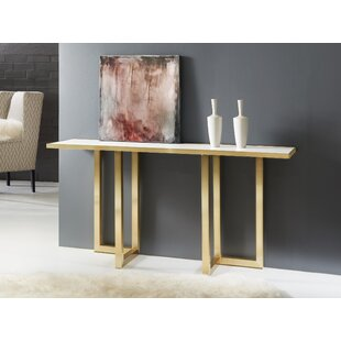 Metal and Acrylic Console Table