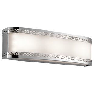 Brayden Studio Nikolas 1-Light LED Bath Bar