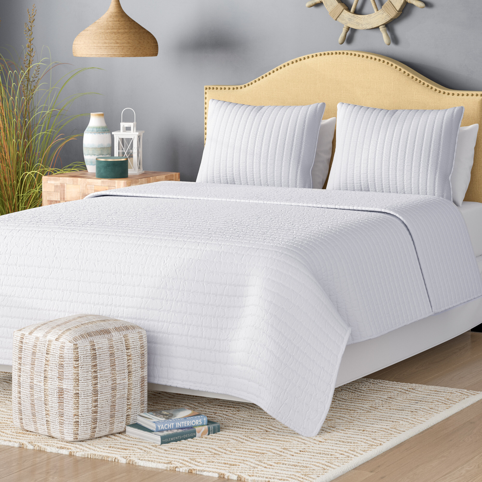 Laurel Foundry Modern Farmhouse Barwick Coverlet Set Reviews Wayfair