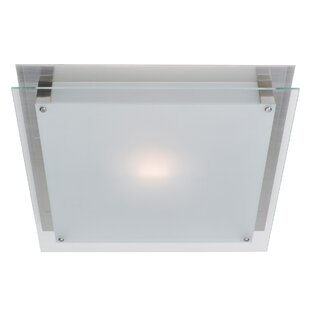 Ivy Bronx Retha LED Outdoor Flush Mount