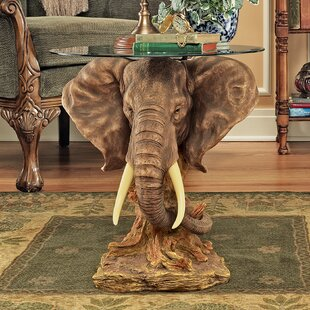 Lord Earl Houghtonu0027s Trophy Elephant End Table