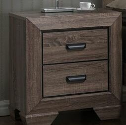 Gracie Oaks Carnegie 2 Drawer Nightstand