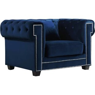 Hilaire Chesterfield Chair by Willa Arlo Interiors
