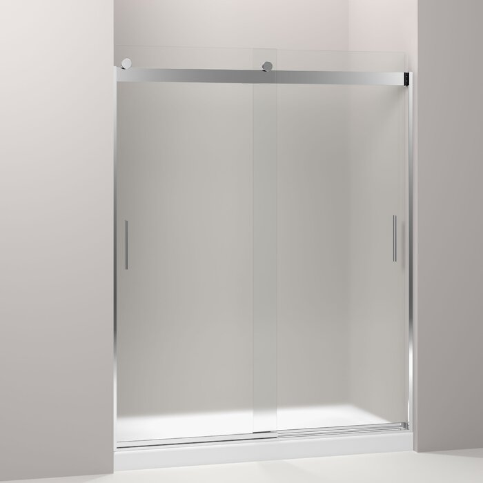 Levity 59 63 X 74 Byp Shower Door With Cleancoat Technology