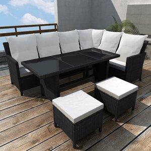 8-Sitzer Ecksofa-Set von dCor design