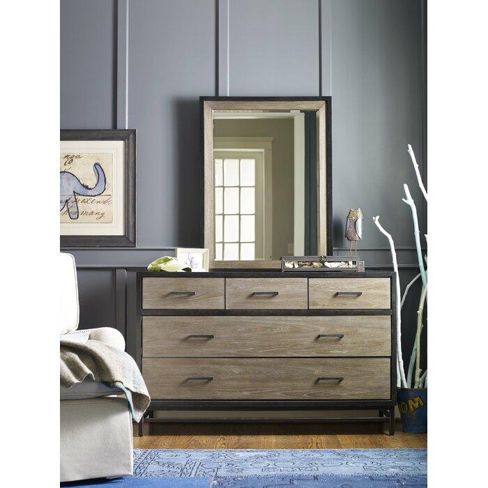 Ling Modern 5 Drawer Dresser
