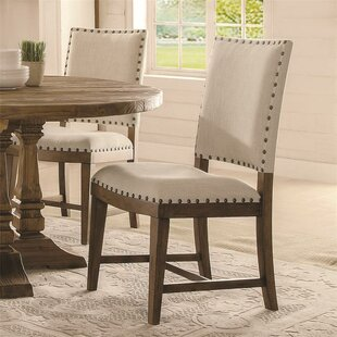 Woosley Upholstered Dining Chair (Set Of 2) by Gracie Oaks #2